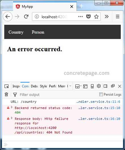 Angular Custom Error Handler