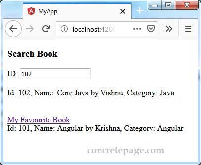 Angular + switchMap Example