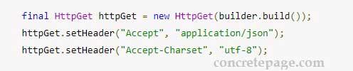Apache HttpClient Get