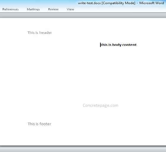 How to open. Doc or. Docx file and check text format using java.
