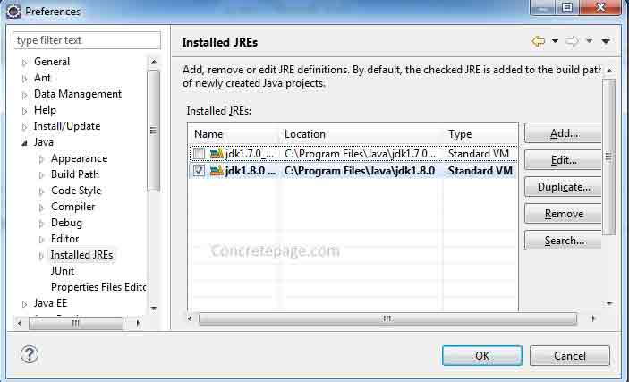 How to Change Eclipse Java Version for Compiler and JRE