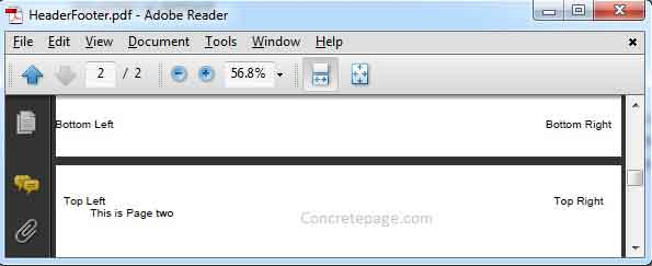 How to add bookmarks in pdf using itext