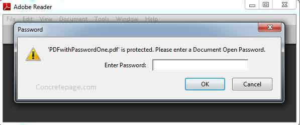 how to open encrypted pdf without password