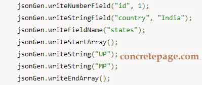 Read/Write JSON Using Jackson ObjectMapper, JsonParser and