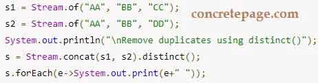 Java 8 Concat Streams, Lists, Sets, Arrays Example