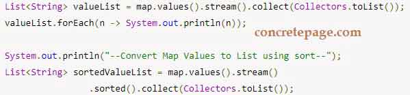 list to map java 8